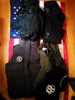 5pcs Used Men's clothing Diesel, Levis, A&F, Stussy, Adidas