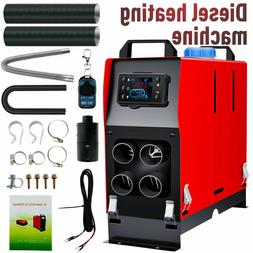 8KW All-in-one Parking Heater 12V 4hole LCD Diesel Fuel Cars