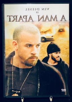 A Man Apart DVD Wide Full Frame Vin Diesel Special Features