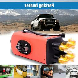 Air Diesel Parking Fuel Heater 12V 8KW Rotary Switch 10L Tan