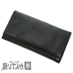 Diesel 2-Fold Wallet Mens Saif Black Leather Second Hand Use
