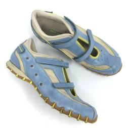 Diesel Discovery Athletic Shoes Blue Leather Sneakers Mary J