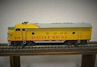 ho scale diesel engine union pacific up