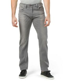 Diesel Men's Grey Cotton Buster Slim Tapered Jeans Casual Pa