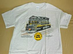 SCL Seaboard Coast Line SD45 Diesel Youth and Adult T-Shirt