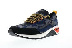 Diesel Skb S-Kby Mens Blue Canvas Camouflage Low Top Lifesty