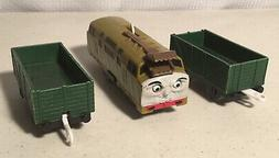 ☆ Thomas The Train ☆ Trackmaster Diesel 10 Green Freight