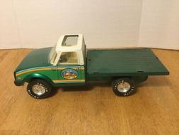 Vintage Nylint Farms Steel Green Flatbed Chevy LUV Diesel Tr