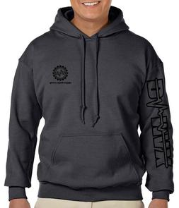 XLG Charcoal DPP Chevrolet Dmax™ diesel Truck Hoodie Chevy